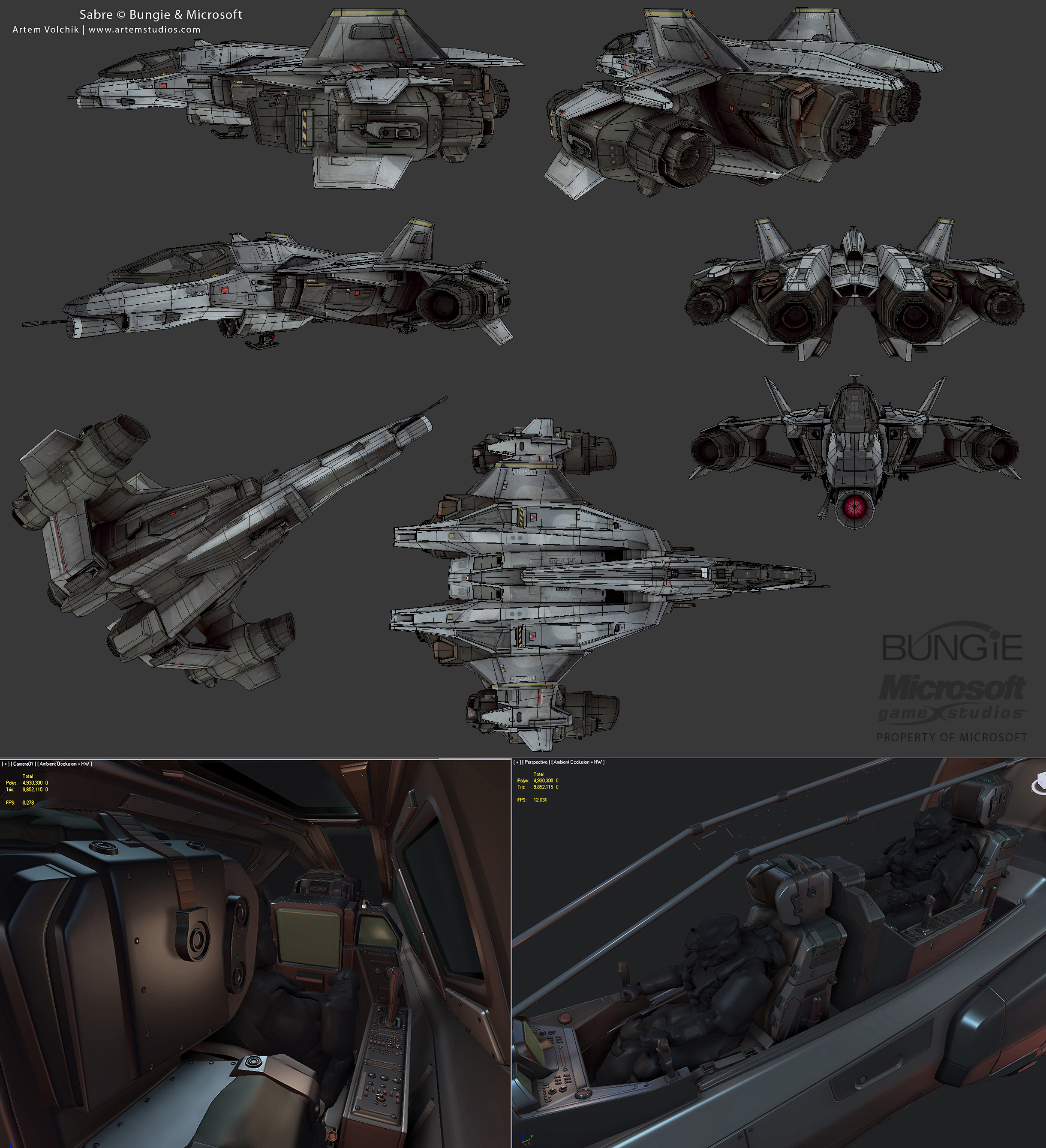 Personal & Halo Reach Pimp — polycount